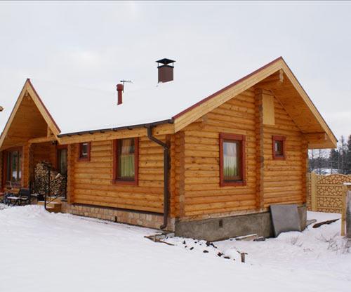 Деревянные дома из бруса одноэтажные