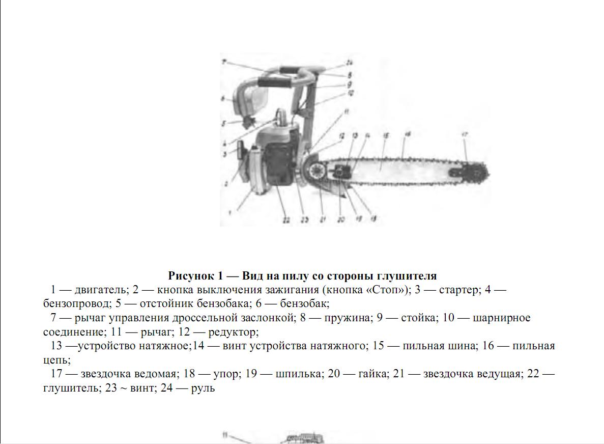 Инструкция по эксплуатации бензопилы дружба 4
