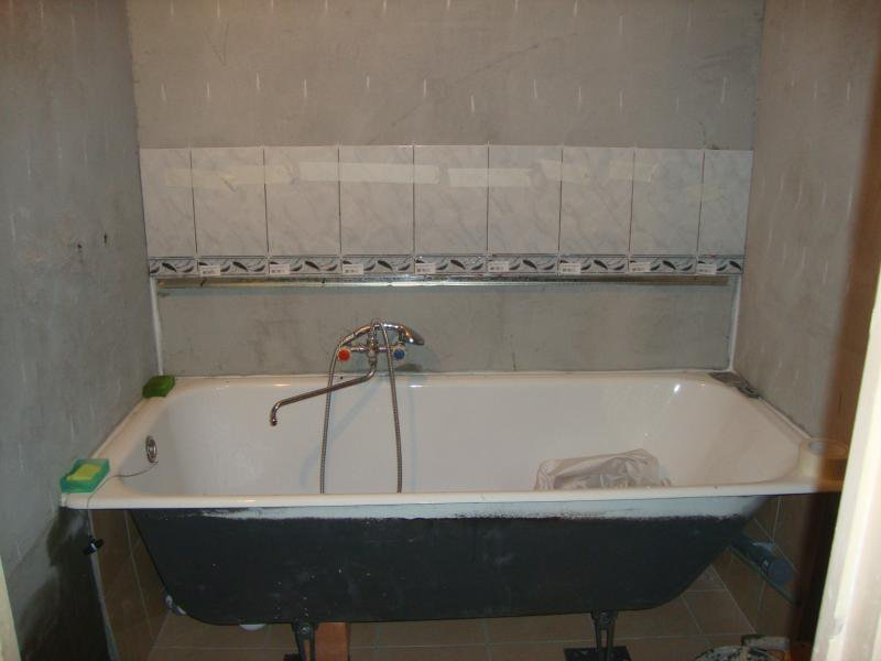 Строительство дома своими руками ванна
