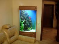 Интерьер ландшафта аквариумов