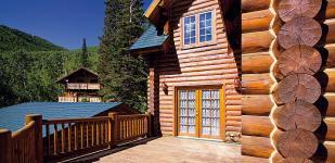 Чертежи деревянных домов