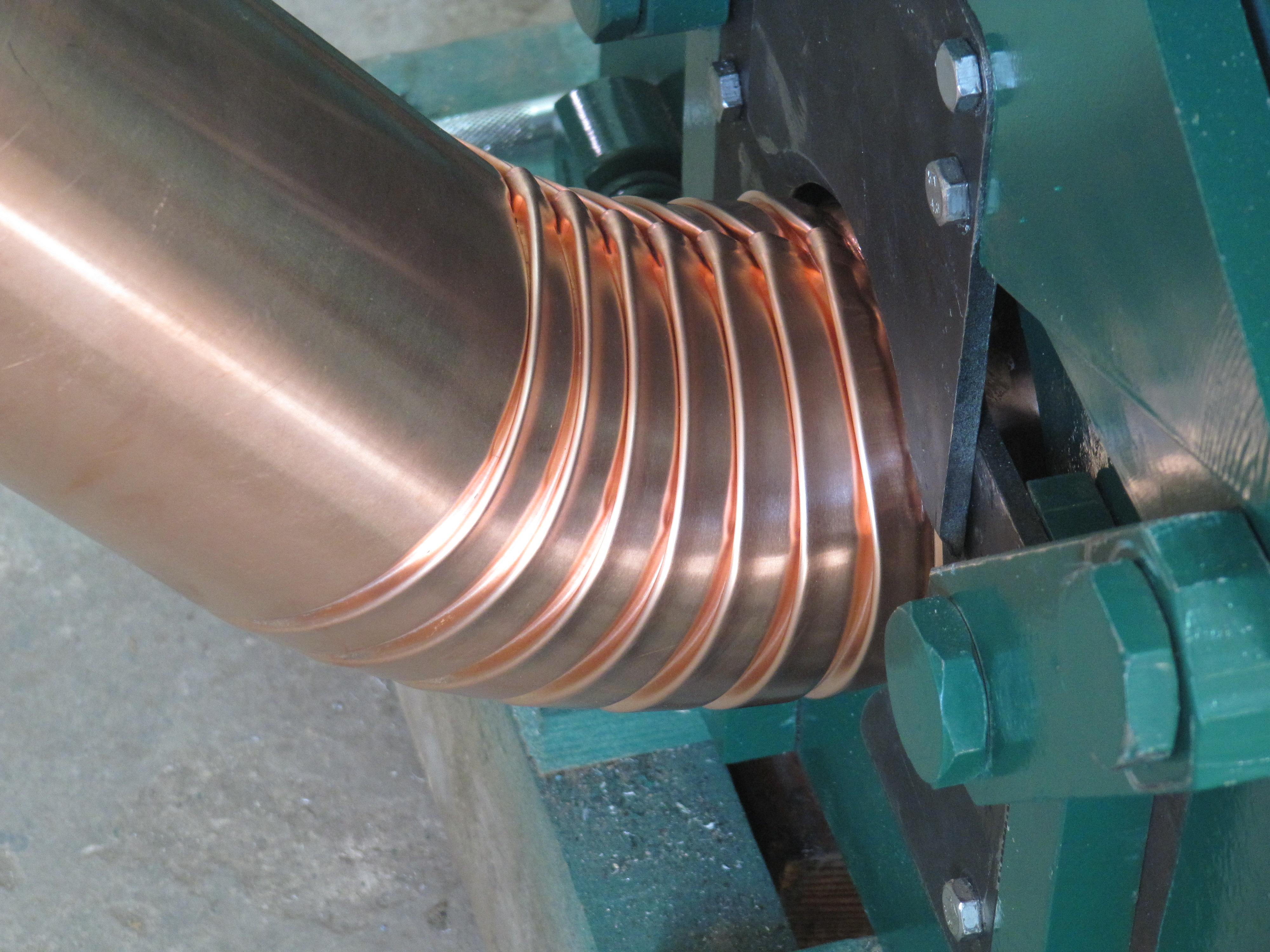 Оцинкованная водосточная труба своими руками фото 412