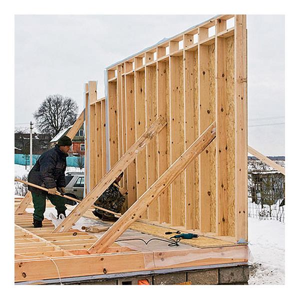 Дом из деревянных досок своими руками 86