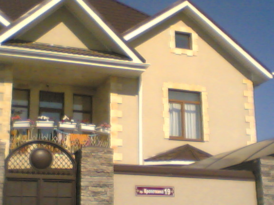 Все виды отделки фасада домов