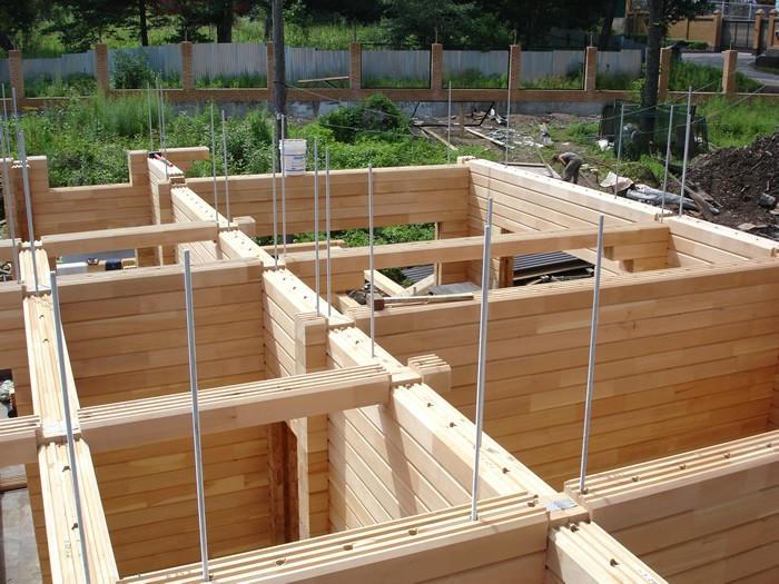 Начало строительство дома своими руками