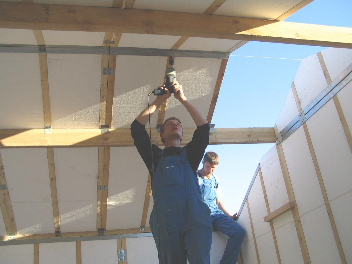 Строим свой дом своими руками фотоотчеты