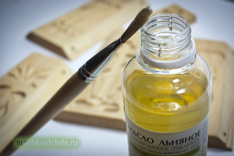 Пропитка дерева льняным маслом от грибков и плесени