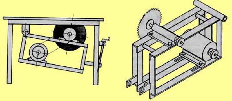 Как сделать циркулярку своими руками в домашних условиях